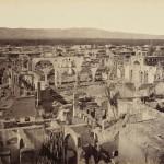 Дамаск, Сирия в развалини след конфликта от 1860