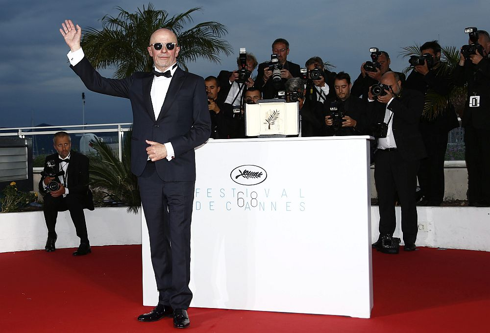 epa04766188 French director Jacques Audiard poses during the Award Winners photocall after he won the Palme d'Or (Golden Palm) award for 'Dheepan' at the 68th annual Cannes Film Festival in Cannes, France, 24 May 2015.  EPA/IAN LANGSDON