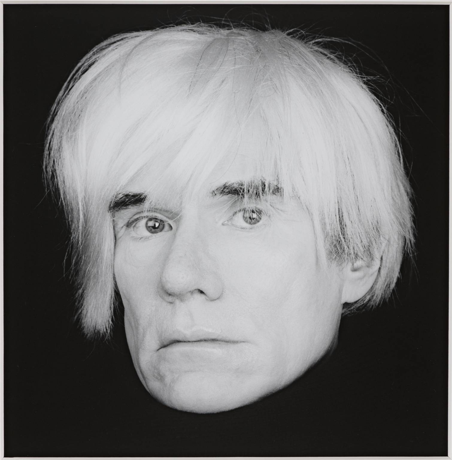 Andy Warhol 1986 Robert Mapplethorpe 1946-1989 ARTIST ROOMS Acquired jointly with the National Galleries of Scotland through The d'Offay Donation with assistance from the National Heritage Memorial Fund and the Art Fund 2008 http://www.tate.org.uk/art/work/AR00149