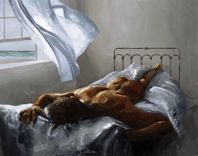 Victor Bauer 1969 - American Knife Figurative painter - Tutt'Art@ (39)