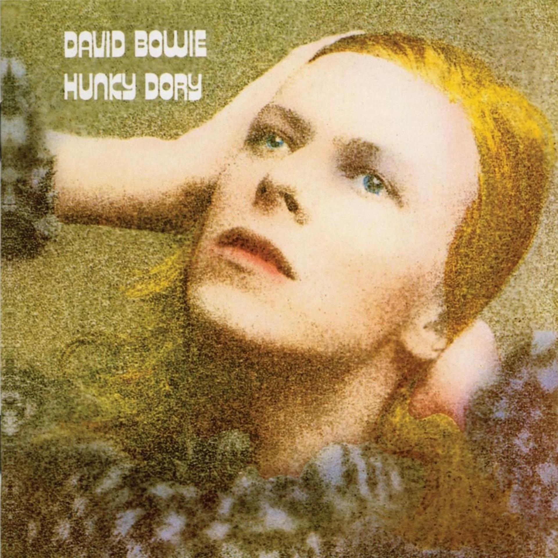 Обложката на албума Hunky Dory от 1972