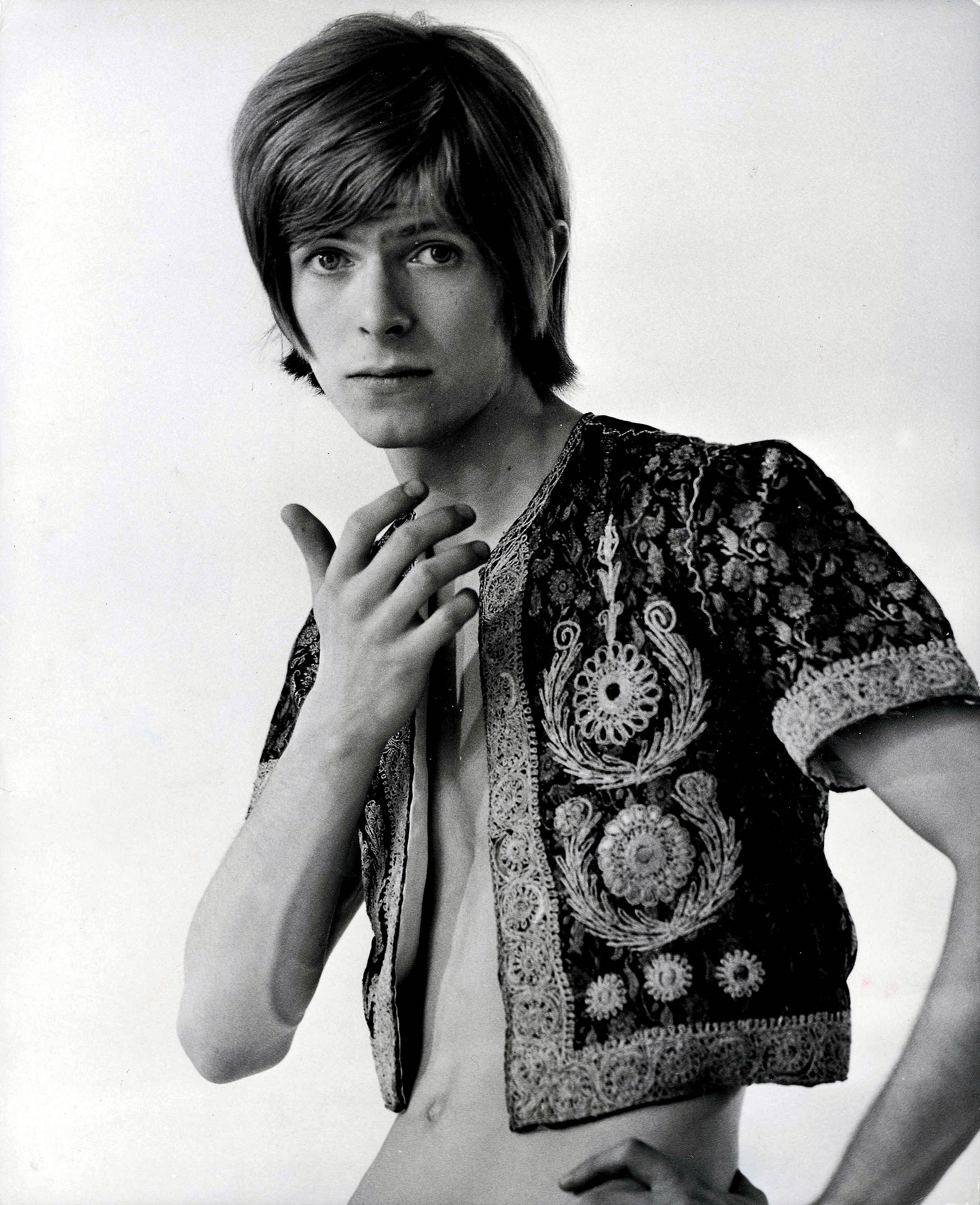 Bowie около 1970 Снимка: Popperfoto / Getty Images