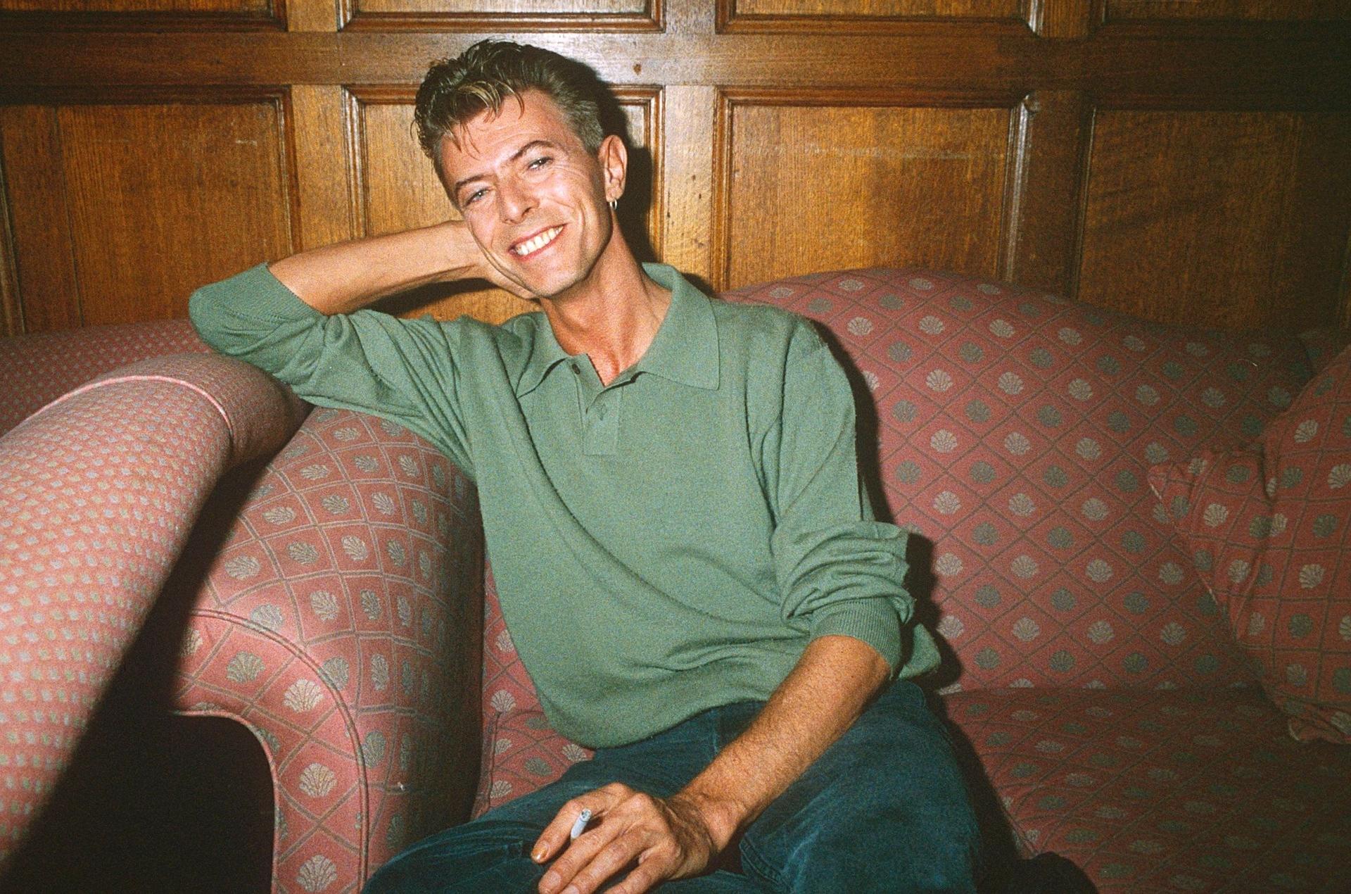 Дейвид Бауи през 1991 г. Фотограф: Richard Young / REX / Shutterstock