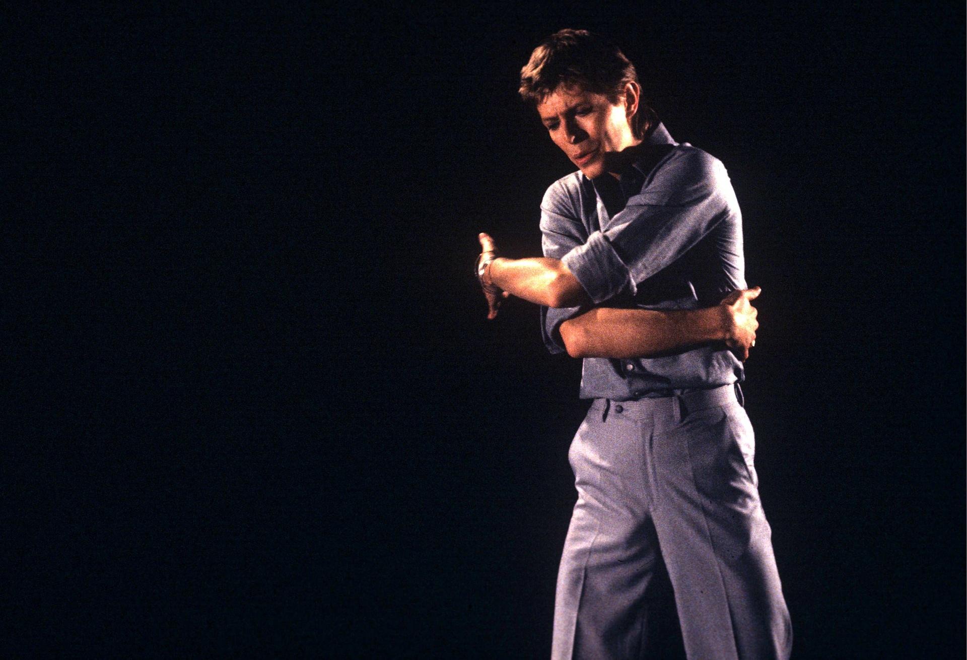 Дейвид Бауи по телевизията през 1977 г. Снимка: ITV / REX / Shutterstock