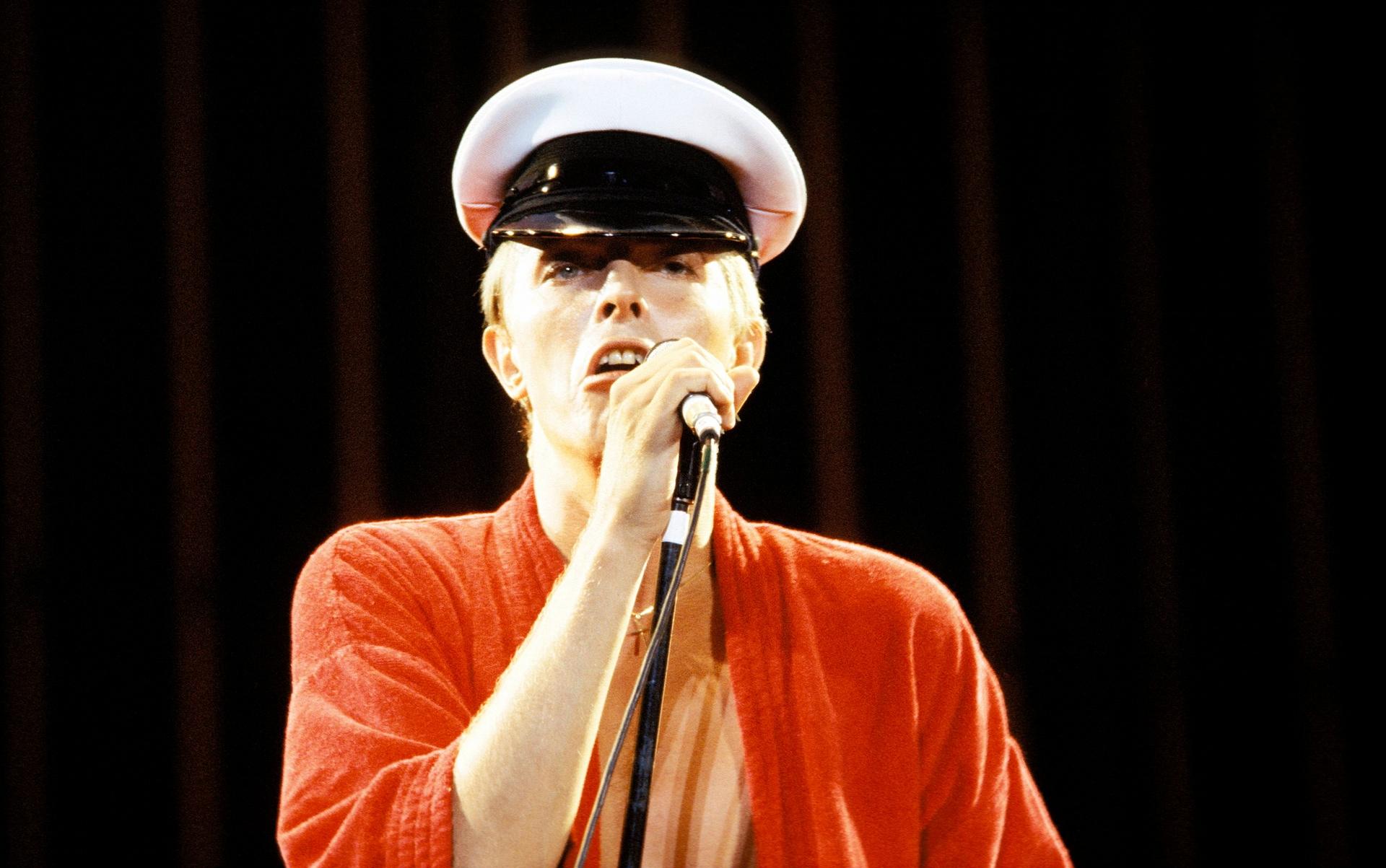Изпълнение на живо от турнето Low/Heroes 1978 World Tour Фотография: Bob King/Redferns