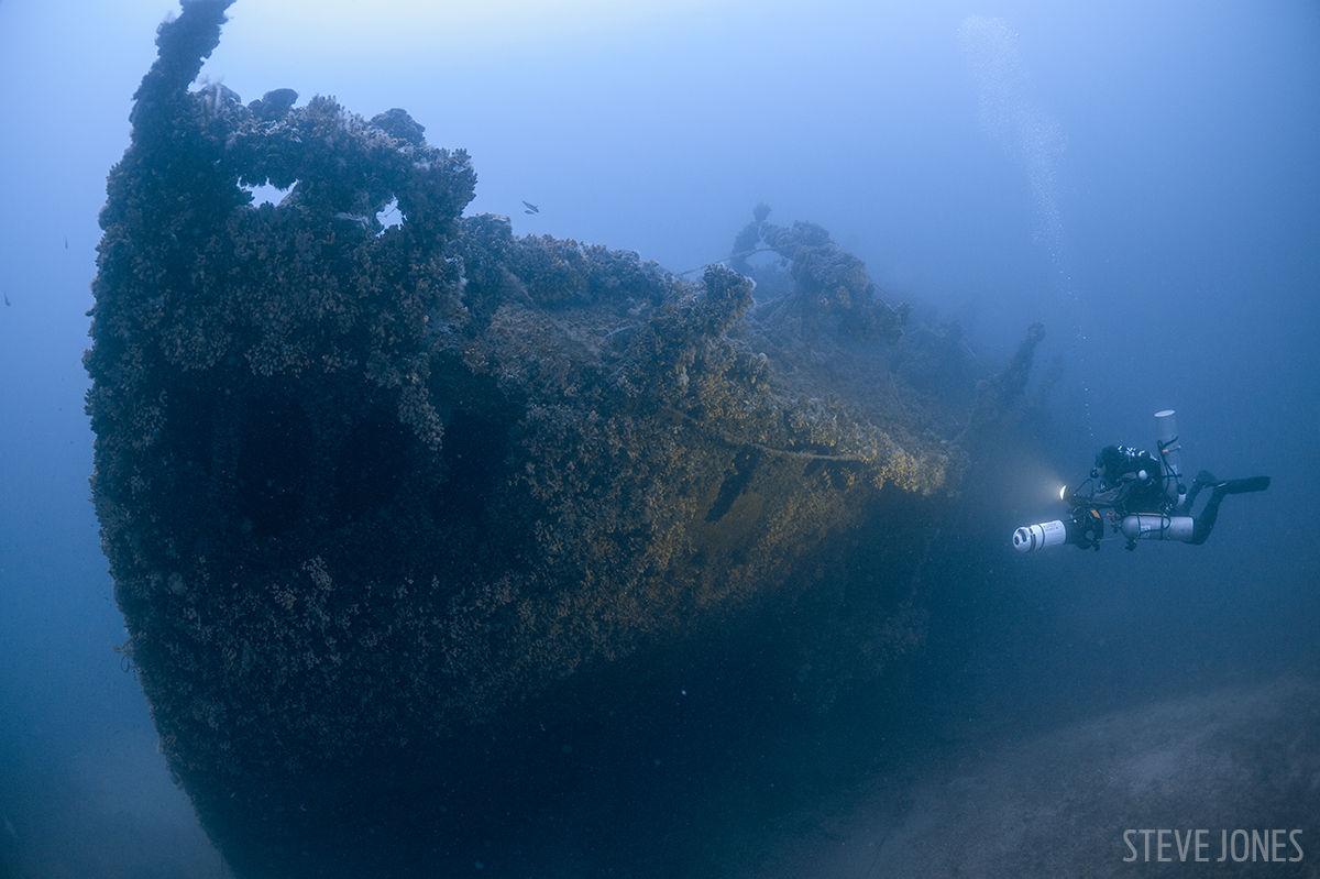 The wrecks of Malta