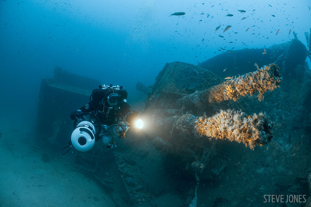 The wrecks of Malta