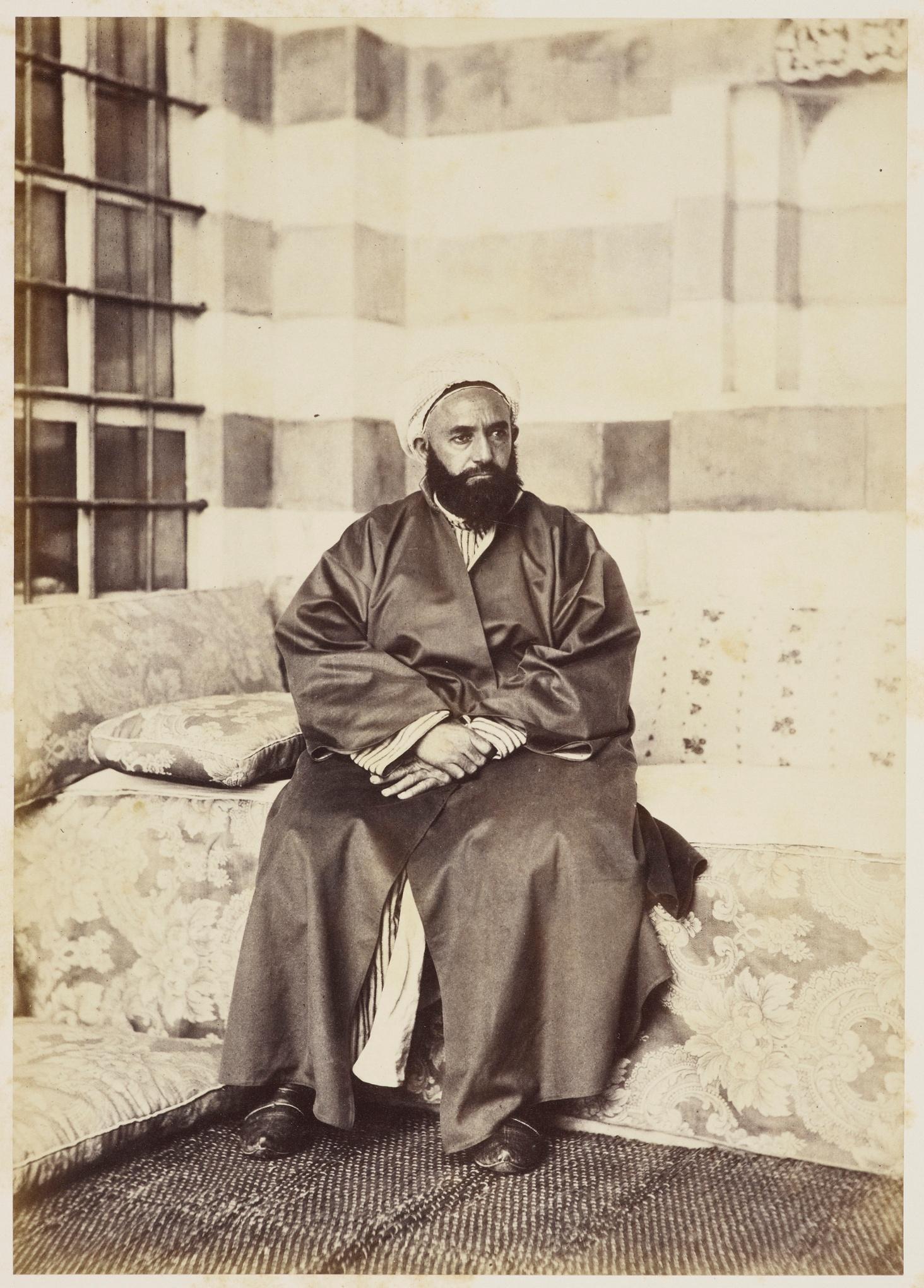 Портрет на Абад ал-Кадир, May 1862