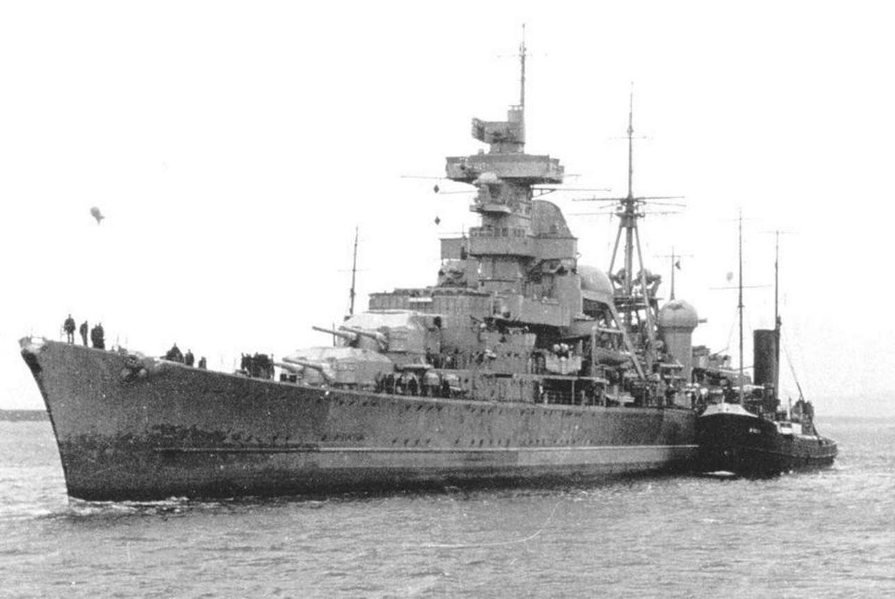 Корабът Бисмарк – гордостта на Кригсмарине | Filter Digest ...